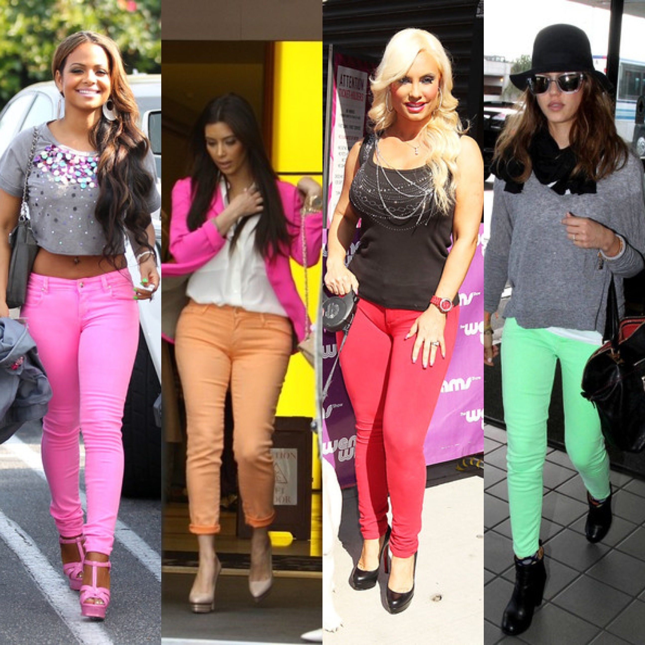 Wearing Color Jeans   One Belle of a Blog